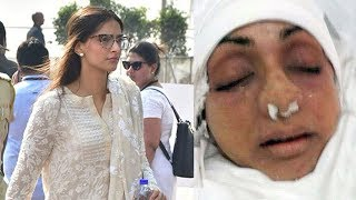 Video EMOTIONAL Sonam Kapoor Breaks Down Seeing Sridevi's Condition After PASSING AWAY MP3, 3GP, MP4, WEBM, AVI, FLV April 2018