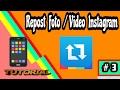 Cara Simple Repost Foto/video Instagram Di Android | Tutorial Android #3