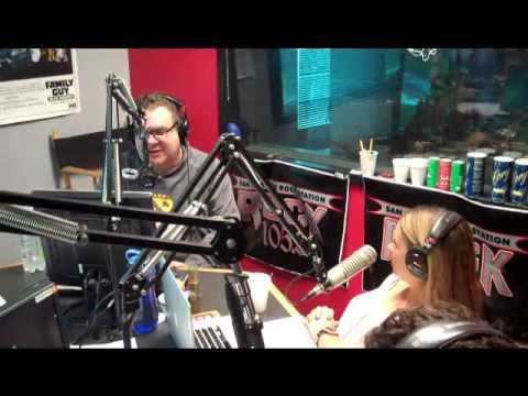 Comedian Jeff Garlin on The Show Rock 105.3