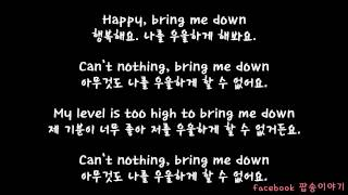 Pharrell Williams  - Happy lyrics 한글 자막 해석 * 번역 *