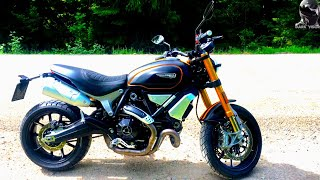 9. Ducati Scrambler 1100 Sport 2018 Test Ride and Specs