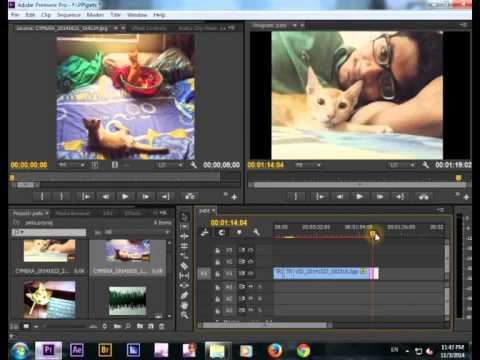 video editing lesson with premiere pro in BANGLA (part 01)