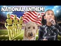 Download Lagu JILLIAN SINGS THE NATIONAL ANTHEM!!! Morning Routine, Crash Test Dummy &  Chloe Haircut Mp3 Free