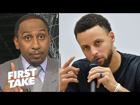 Video: Stephen A. warns: Don't sleep on the Warriors! | First Take