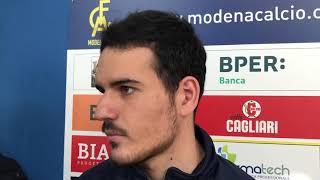 Modena Fc, intervista Mattia Piras