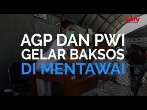 AGP dan PWI Gelar Baksos Di Mentawai