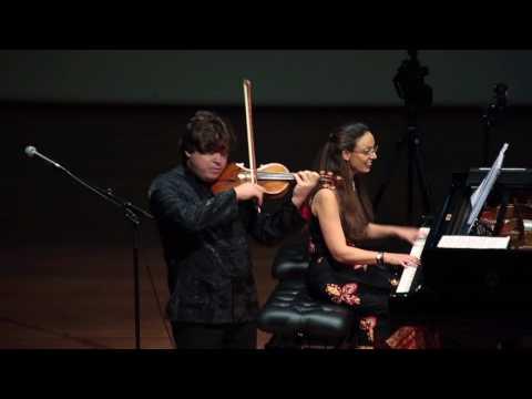 Sarasate Caprice Basque Op 24 Sergey Ostrovsky & Orit Wolf