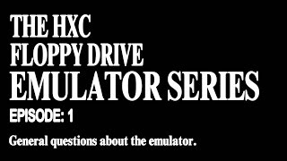 The HXC Floppy Drive Emulator and the Mirage (Part 1)