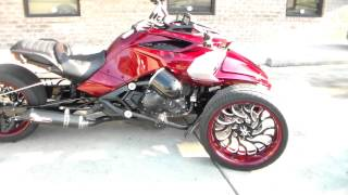 10. CAN-AM SPYDER F3 BUILT BY ALL THINGS CHROME WITH FAT TIRE KIT 615-431-2294