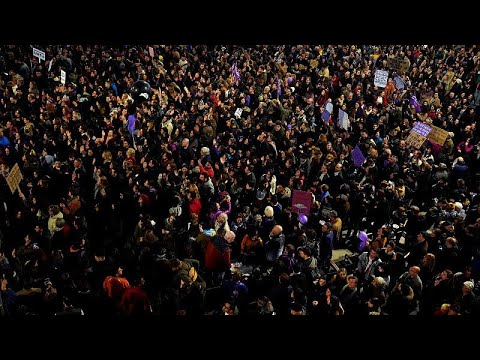 Madrid ganz feministisch: Eine Stadt in der Hand der Feministen