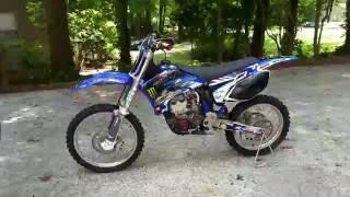 9. 2004 Yamaha YZ250F resto-mod Project Final Vid # 1