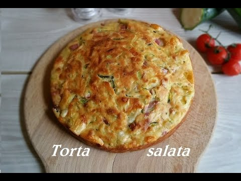 torta salata - la video ricetta