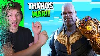we created an INSANE THANOS WAR! (Avengers Endgame in Minecraft)