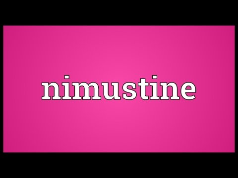 Nimustine Meaning