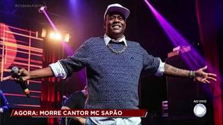MC Sapão morre de pneumonia grave
