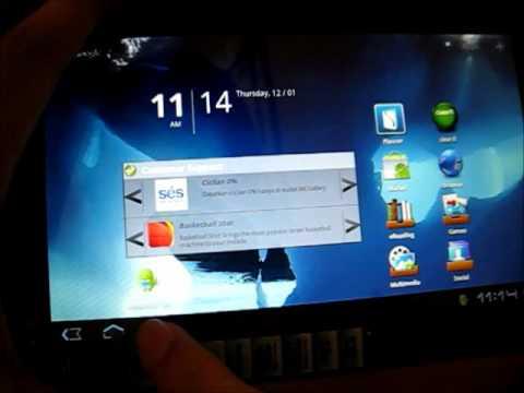 Antar Muka Acer Iconia Tab A101