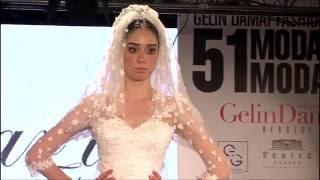 Uçarı Tasarım 2016 Gelinlik Defilesi - 51 Moda Evi - Gelin Damat Fashion Day 2016