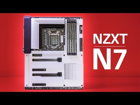 NZXT's FIRST MOTHERBOARD!  The Z370 N7