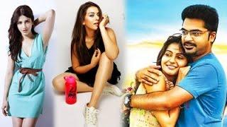 Shruthi & Hansika about Idhu Namma Aalu News Kollywood News 11/02/2016 Tamil Cinema Online