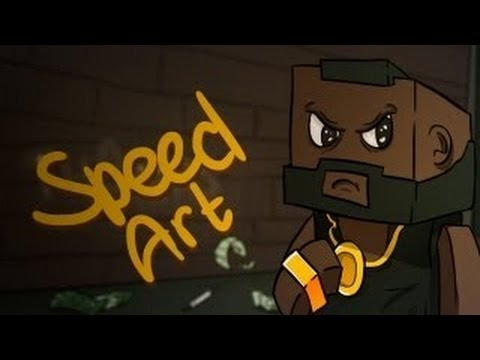 Speed Art #1 ThomasLiveGames (Ускорено)