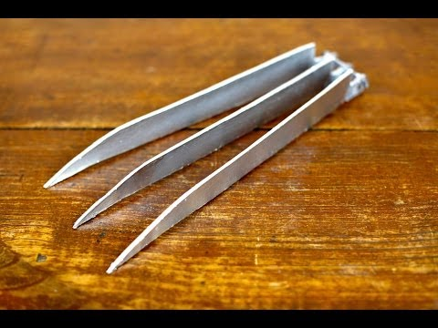 claws - Here is an Easy instructional video on how to make your very own pair of Wolverine claws. Can't wait for X-Men: Days of Future Past that is going to be aweso...