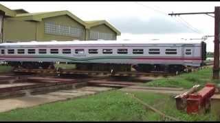 Kereta Bangladesh buatan Indonesia PT INKA