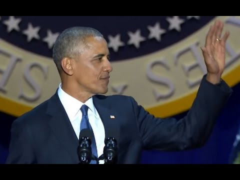 Obama Farewell Speech FULL Event | ABC News (видео)