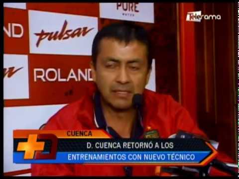 Deportivo Cuenca retornó a los entrenamientos con nuevo técnico