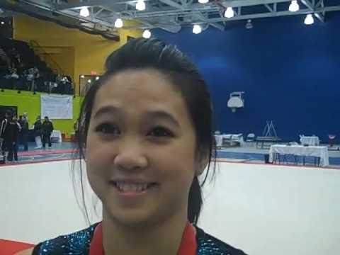 Toronto gymnast Peng Peng Lee back on top