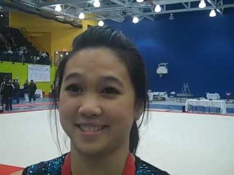 Toronto gymnast Peng Peng Lee back on top