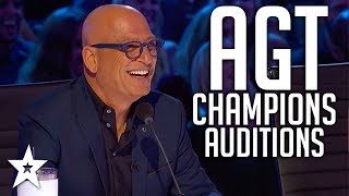 Video The Champions on America's Got Talent 2019 | Auditions | WEEK 3 | Got Talent Global MP3, 3GP, MP4, WEBM, AVI, FLV Agustus 2019