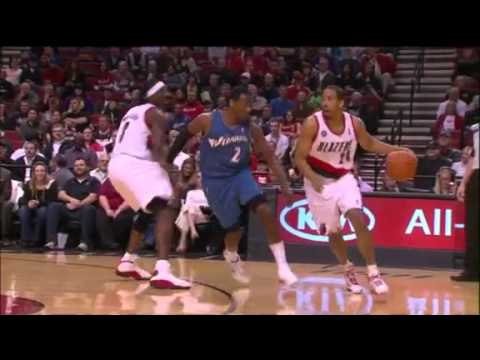 Andre Miller to LaMarcus Aldridge against Wizards