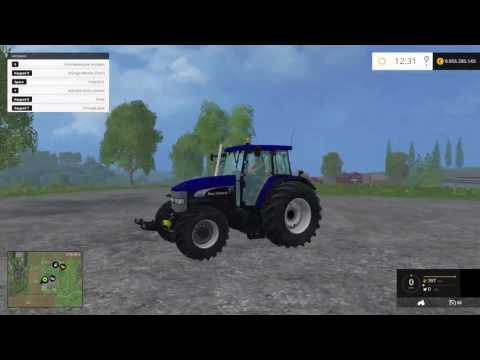 New Holland TM 190 Blue power v1.0