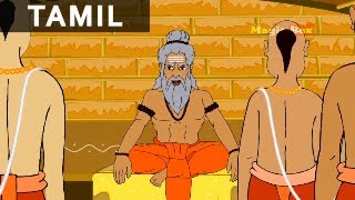 Jataka Tales in Tamil - Foolish Disciple - Kids Animation / Cartoon Stories
