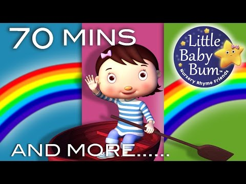 boat - Row Row Row Your Boat | Plus Lots More Nursery Rhymes | 70 Minutes Compilation! 0:05 Row Row Row Your Boat 1:14 Rainbow Colors Song 2:48 If You're Happy And ...