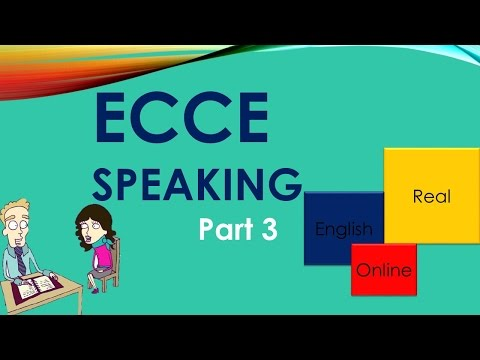 ECCE Speaking,Part 3, TIPS -Michigan