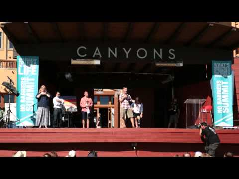 The 2015 Summit Closing Ceremony including Cara Elizabeth Yar Khan, Mandy Harvey, Erik Weihenmayer, No Barriers Boston Fund, and so much more. <br />