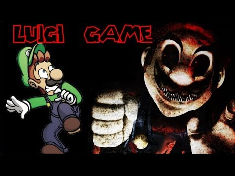 LUIGI.EXE - PLEASE DON''T KILL ME, MARIO! [Horror Game]