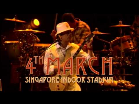 Santana - The Sentient Tour - Singapore TVC