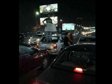 سائقوا-القاهره-يقطعون-كوبري-اكتوبر-بعد-زيادة-سعر-البنزين
