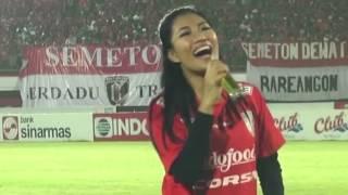 Video BALI UNITED vs AREMA CRONUS at Stadion Dipta Gianyar Bali - Live Performance by EBA AYU FEBRA MP3, 3GP, MP4, WEBM, AVI, FLV Oktober 2017