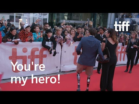 A Real Life Hero Walks The TIFF Red Carpet | Jeff Bauman | TIFF 2017