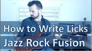 Download Lagu How to Write Jazz Rock Fusion Licks in 4 Steps Mp3