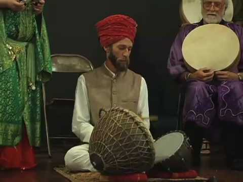 Nagara - Solo on nagara drum, followed by nagara and cymbal duet, at Middle Eastern Treasures concert, October 19, 2008, presented by Mary Ellen Donald at Humanist Ha...