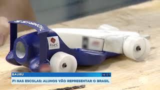 Alunos de Bauru vencem nacional do 'F1 nas Escolas' e vão disputar mundial