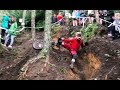Is This the Craziest Downhill MTB Track everDont tickle it SEND IT!!