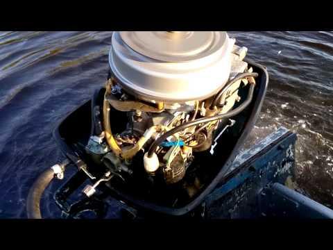 лодочный мотор ветерок 12 на ходу