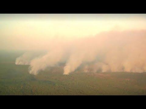 Φωτιές στη Σιβηρία: Βομβαρδίζουν τα σύννεφα για να φέρουν βροχή…