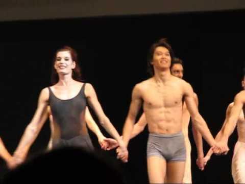 Maurice Bejart Ballet @ Moscow  Nov6 2006 モーリスベジャールバレエ団