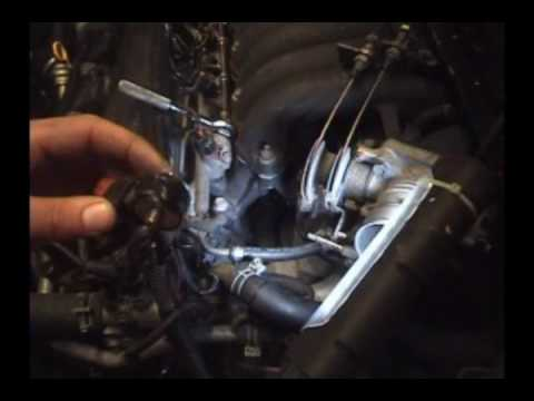 1995-1999 Nissan Maxima: (1/2) Knock sensor replacement